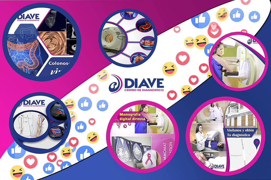 Redes sociales Diave